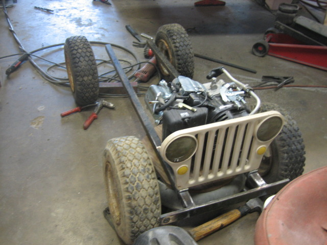 Ungdommelig Amazing Mini GoCart WWII Military Willys Jeep Replica | Offroaders.com PX-52