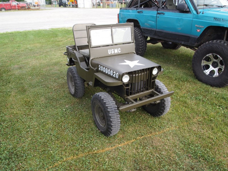 Mini Jeep Flatfender