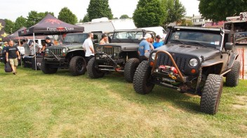 18th Annual All Breeds PA Jeep Show at the York Fairgrounds, York PA