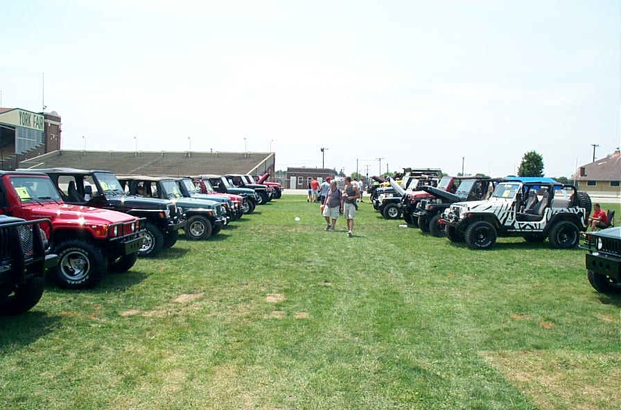 PA Jeeps All Breeds Jeep Show