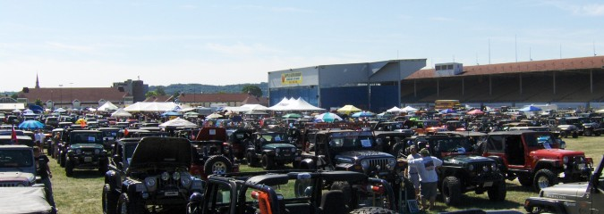 PA Jeeps All Breeds Jeep Show 2014