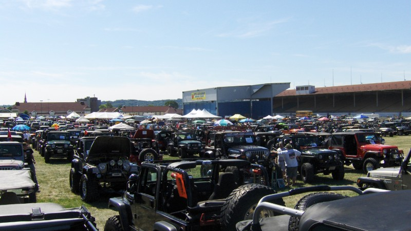 PA Jeeps All Breeds Jeep Show 2014