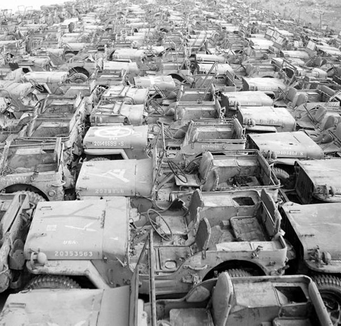 jeep willys mb ford gpw okinawa graveyard. Black Bedroom Furniture Sets. Home Design Ideas