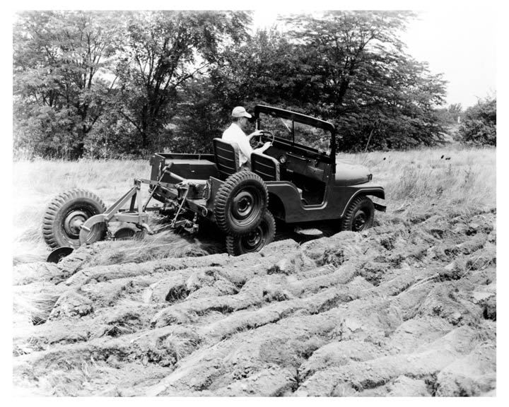Jeep A Split Jeep Willys Overland Implements