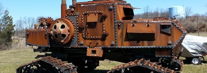 Zombie Apocalypse Offroad Tank-Like Beastly War Machine