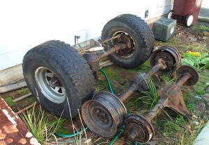 Dana 44 Axles Project CJ-7