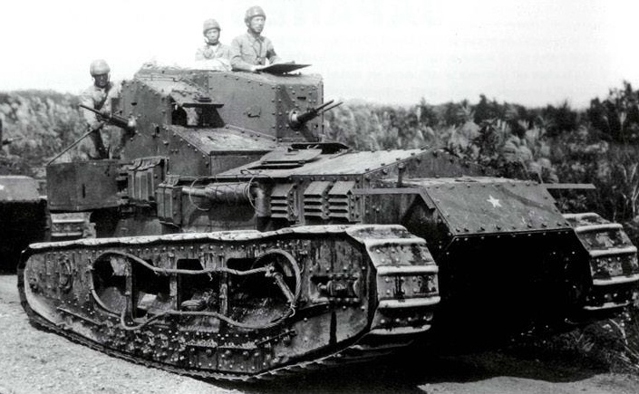 British Medium Mark A Whippet Tank