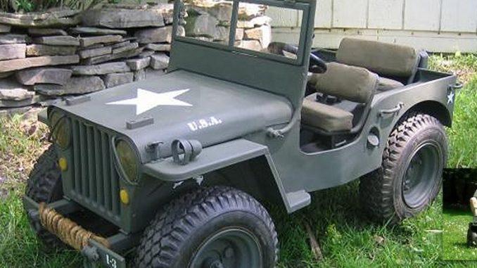 Svært Amazing Mini GoCart WWII Military Willys Jeep Replica | Offroaders.com NH-24