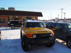 The Trade-in, 2010 FJ Cruiser