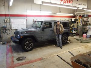 I'm a Happy Camper with my 2014 Jeep JK Rubicon X