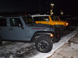My 2014 Rubicon X sparked next to the Trade-in