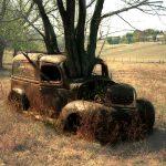 Rusty Panel Truck