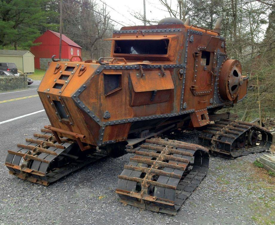 19th Century Tank Steam Shovel 4×4 Beast