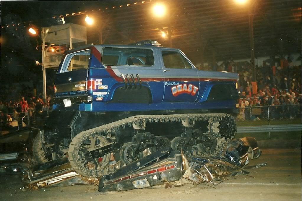 Willys Jeep Truck >> Virginia Beach Beast Monster Truck Resurrection | Offroaders.com