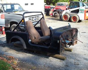 CJ-7 Tub for Project CJ-7