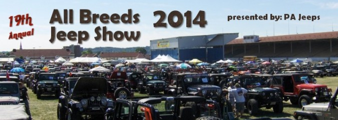 PA Jeeps All Breeds Jeep Show 2014 Photo Gallery