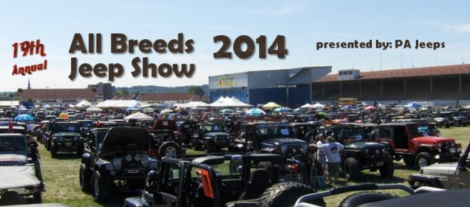 PA Jeeps All Breeds Jeep Show 2014 Highlights