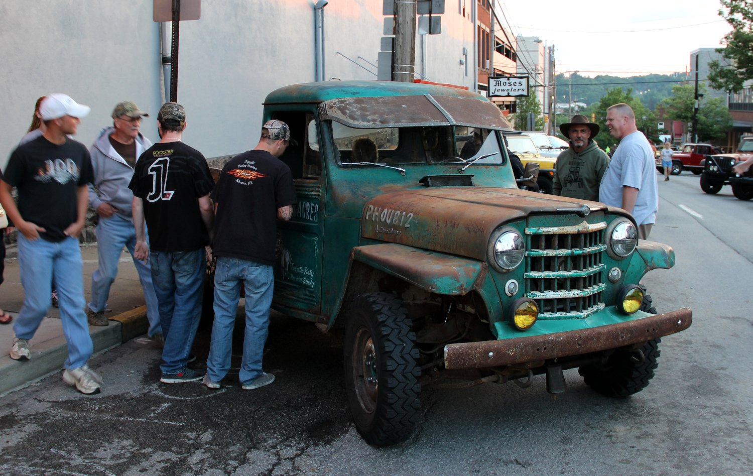 Stinky Ass Acres Willys Rat Rod 1951 1952 Ford Hot Truck Pics Jeep