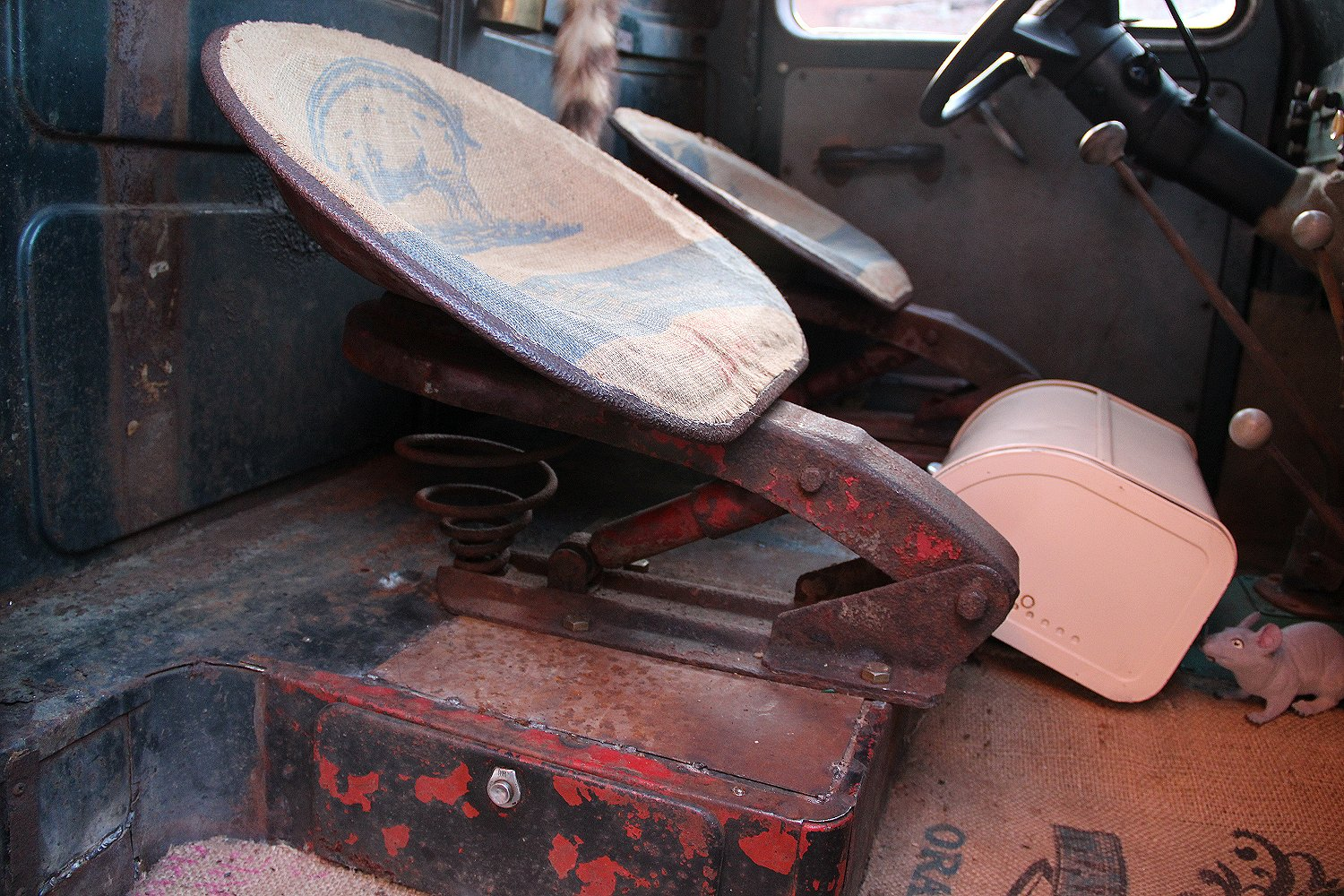 1952 Willys  Jeep Truck Rat Rod Seats