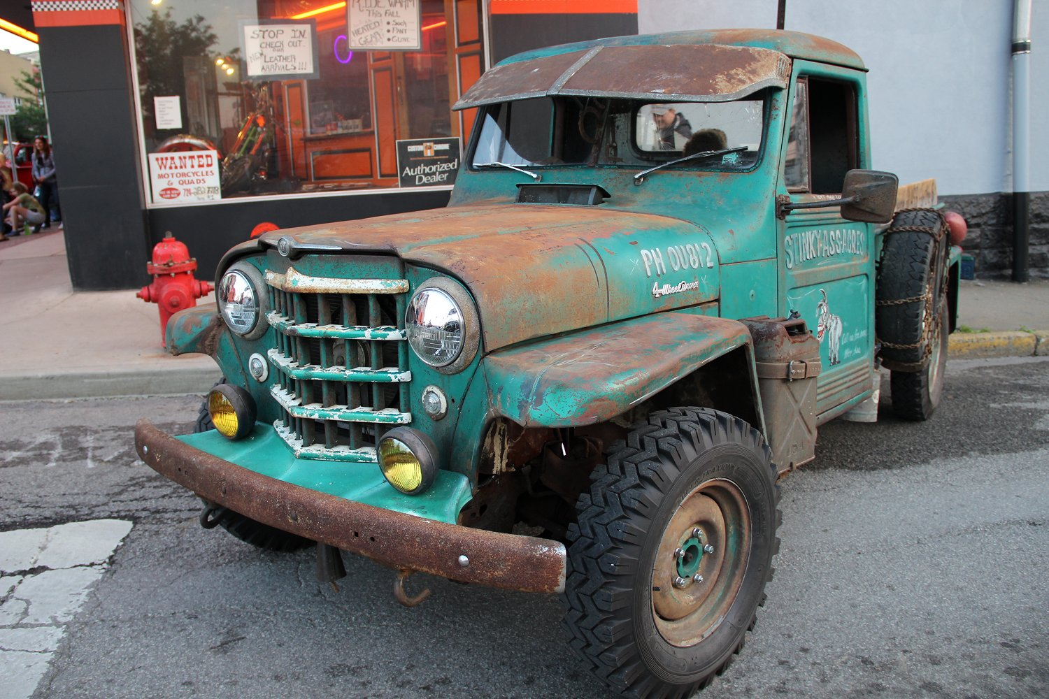 Stinky Ass Acres Willys Rat Rod 1950 Jeep Pickup Truck 1952