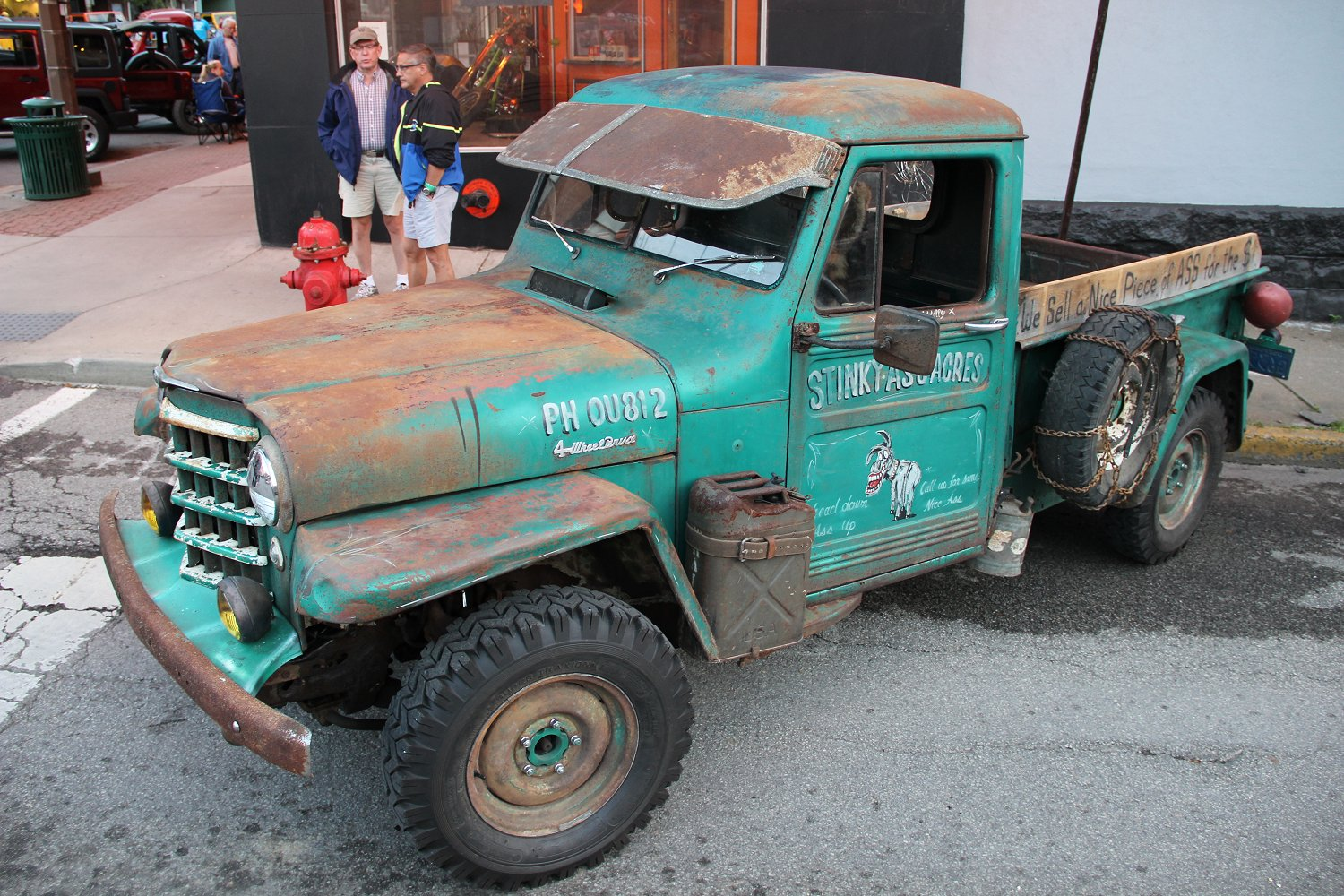 1952 Willys  Jeep Truck Rat Rod