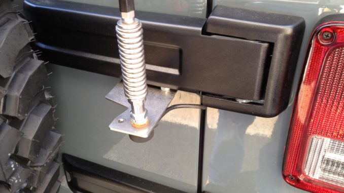 Jeep Wrangler Antenna Mount Replacement On Jeep Cb Antenna Wiring