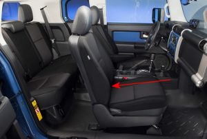 Toyota FJ Cruiser Seats Comfort