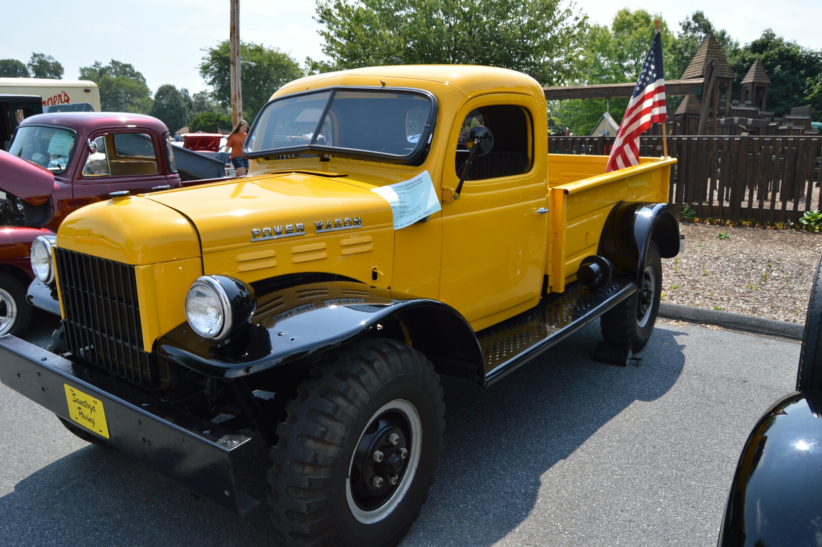 The Dodge Power Wagon was introduced in 1946.