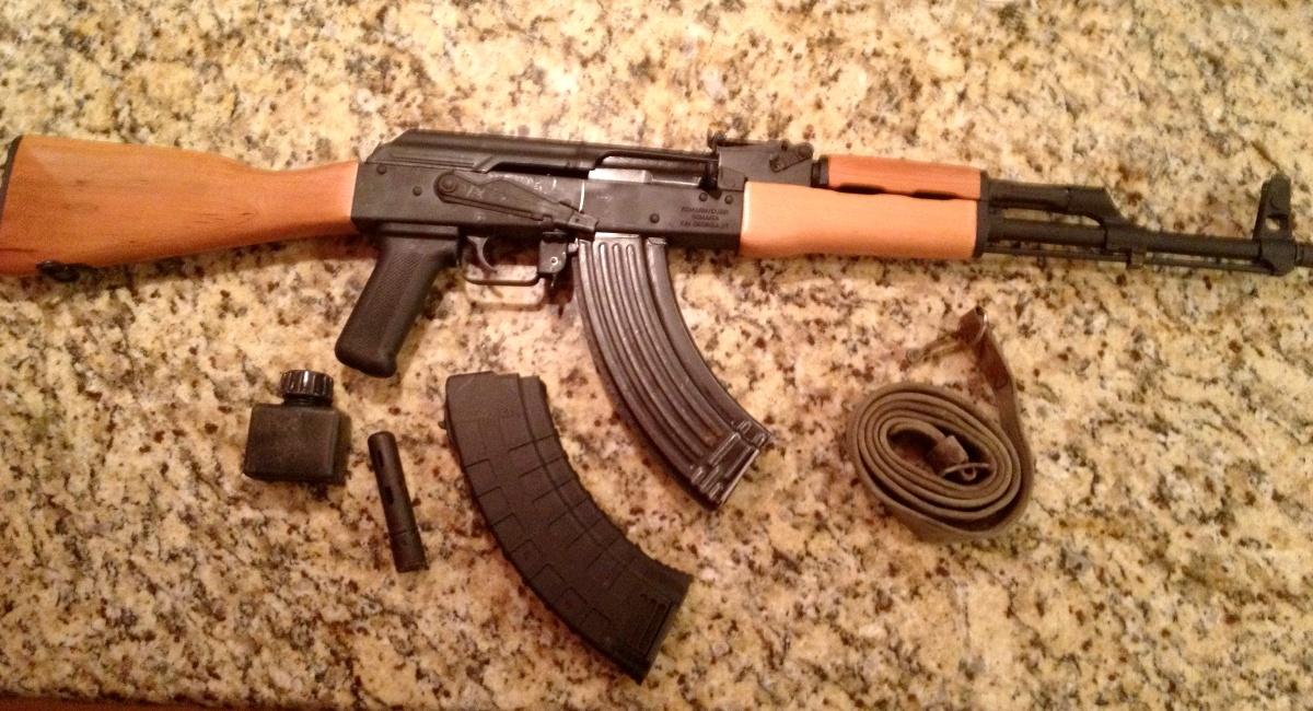 $499. Romanian WASR AK-47