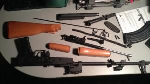 Romanian WASR AK-47 Disassembled