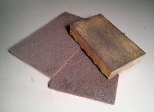 220 grit Sanding Sponge & Scotch-Brite pads
