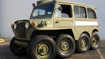 1953 Willys 8×8 Custom Jeep Build