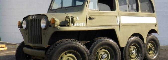 1953 Willys 8×8 Custom Jeep Build