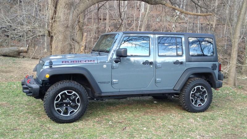 Project Jeep Rubicon X