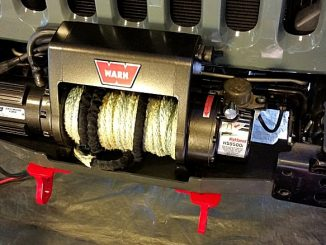 Warn 9500i Winch Installation on Maximus-3 Winch Mount