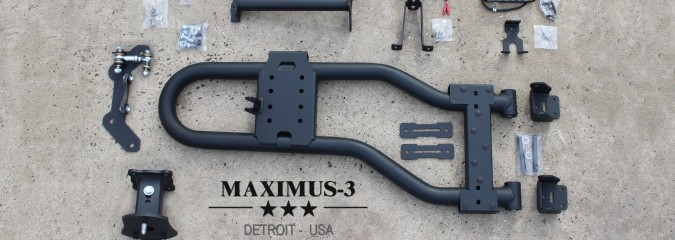 How to Install the Maximus-3 JK Modular Tire Carrier