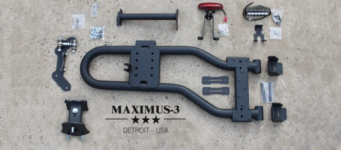 Review: Maximus-3 JK Modular Tire Carrier Sport Package