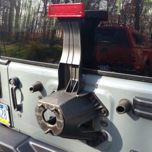 Stock Jeep JK Tire Carrier
