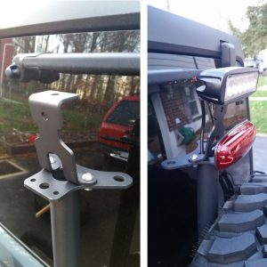 LED Brake Light Bracket Mount
