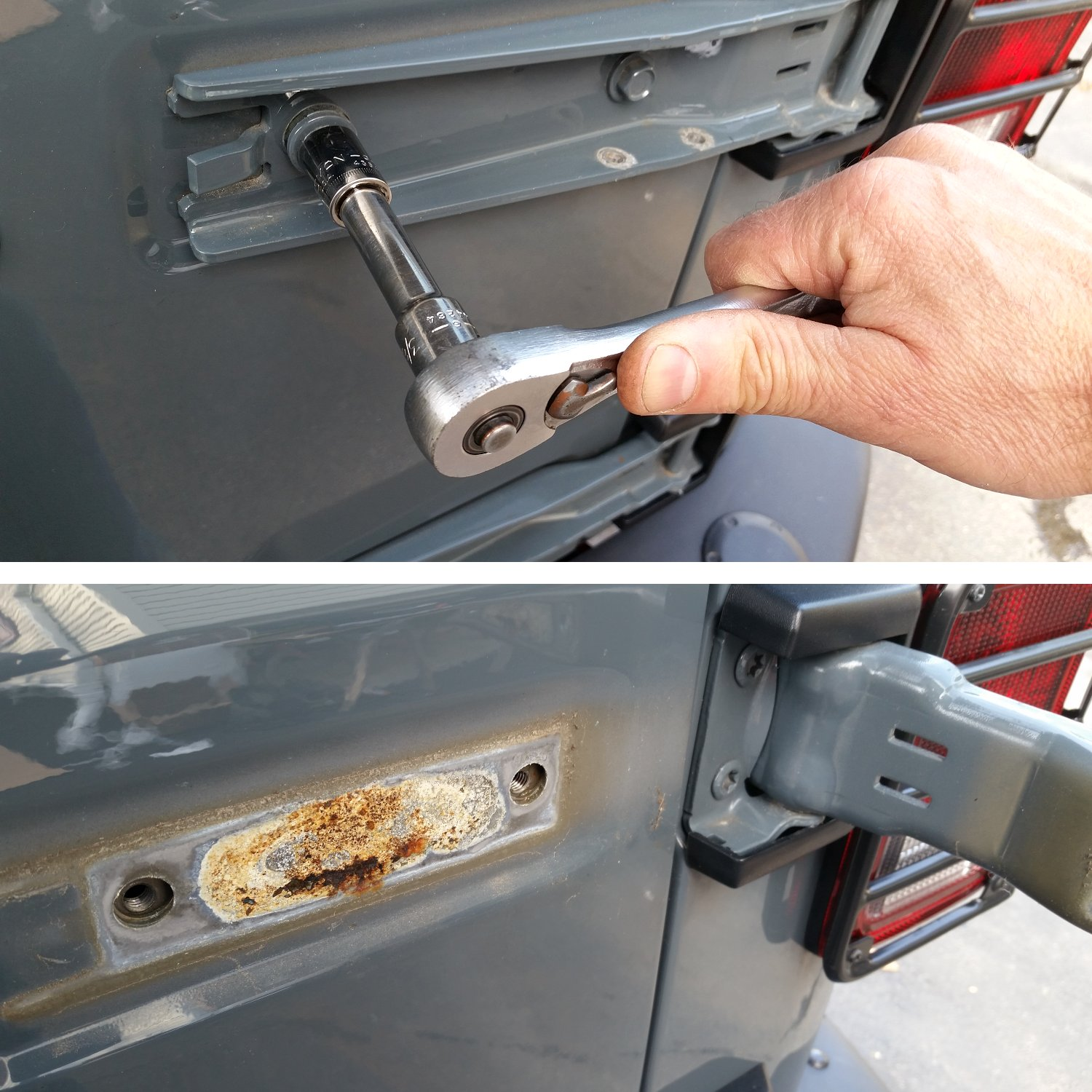 Remove-top-hinge-rust