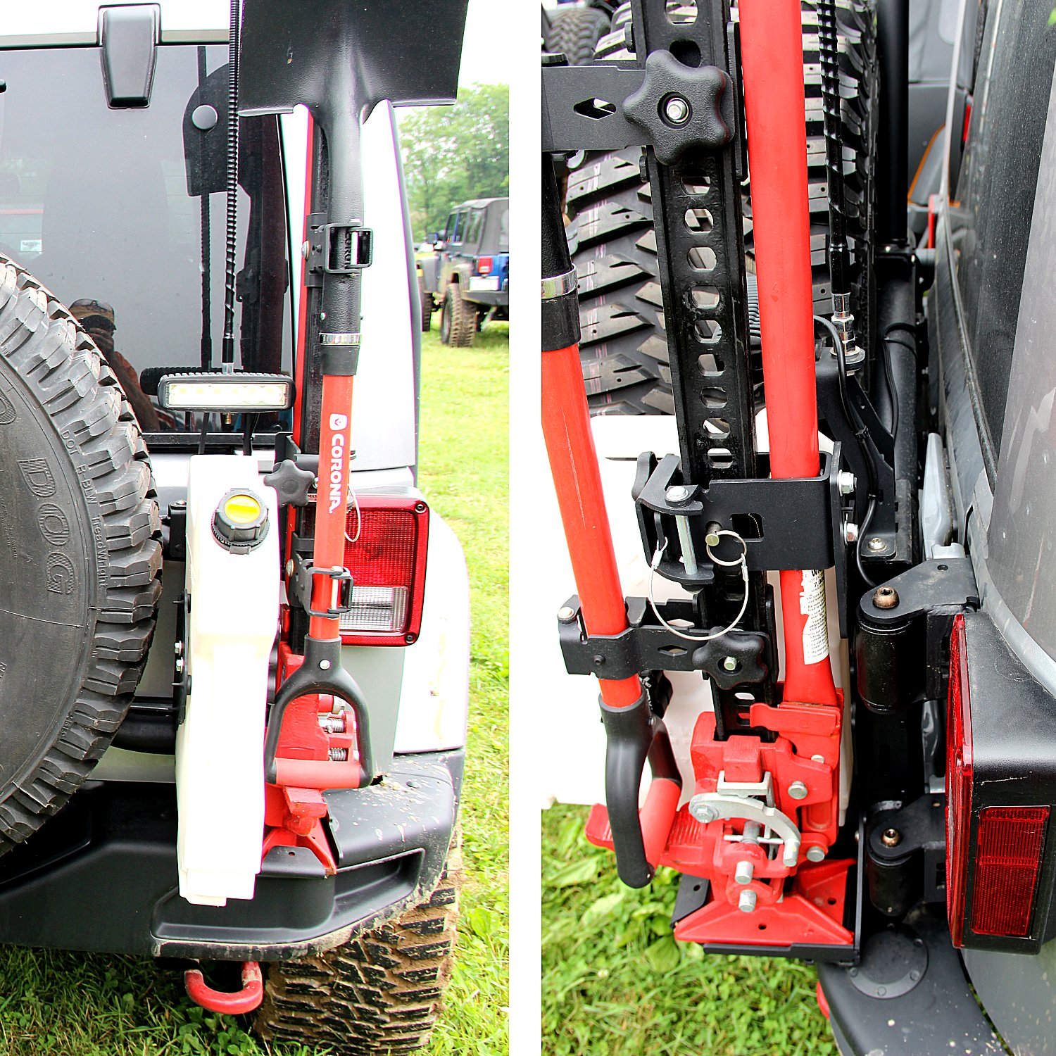 How To Install The Maximus 3 Tire Carrier Offroaders Com