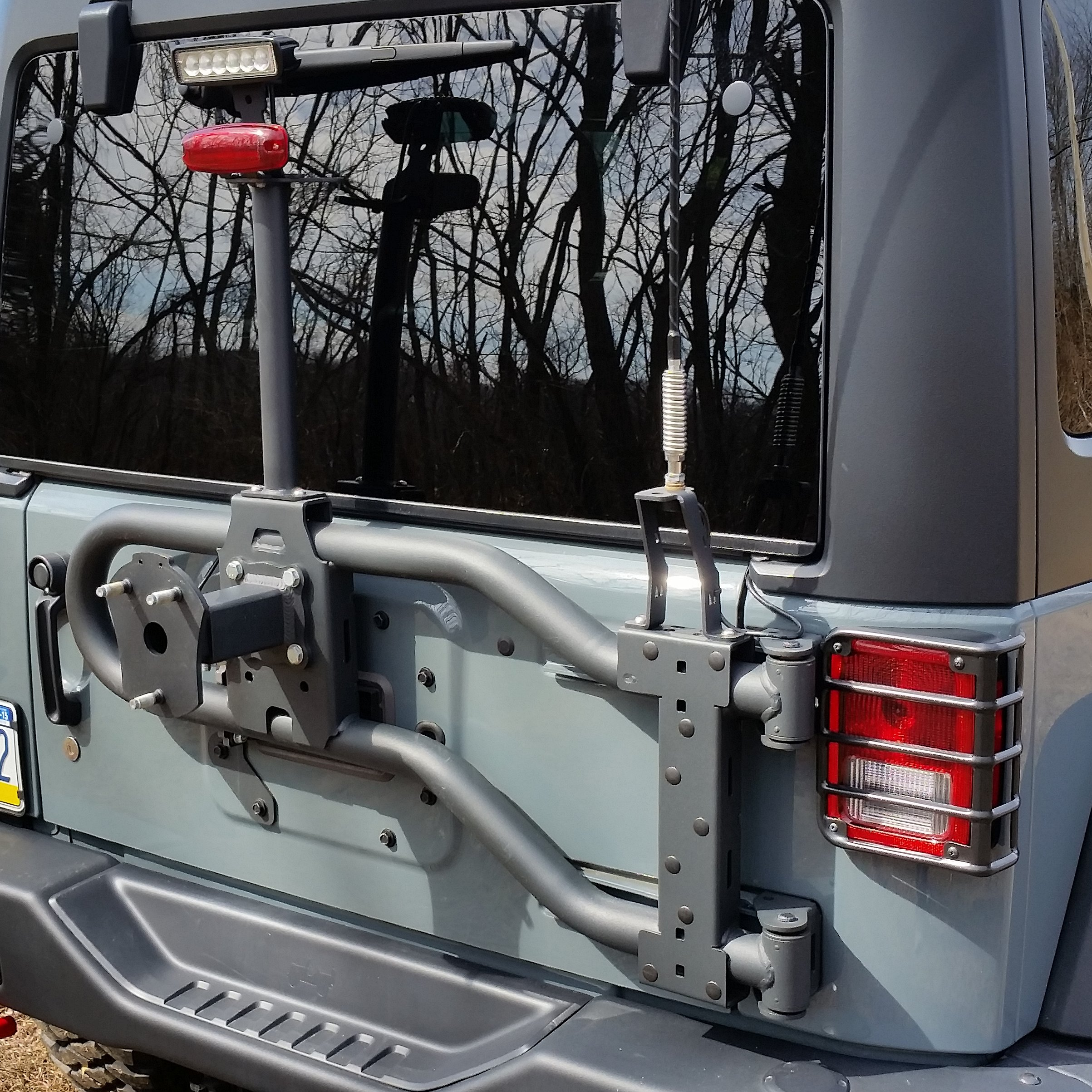 Review Photo: Maximus-3 JK Modular Tire Carrier Sport Package
