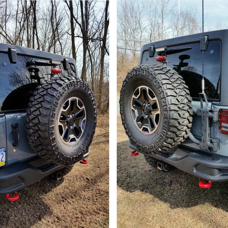 suspension jeep w rugged kit ridge jk inch shocks spacer wrangler tires lift