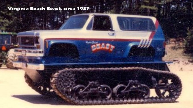 Virginia Beach Beast Monster Truck, circa 1987