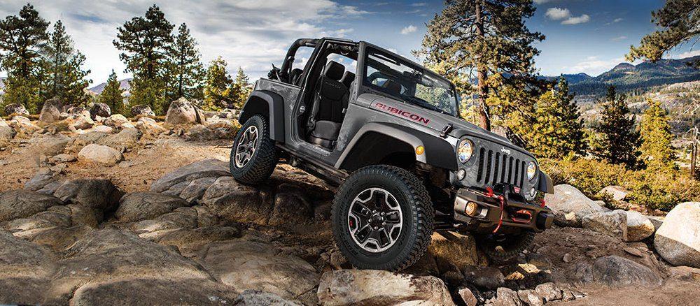 Jeep JK Rubicon Hard Rock on the Rubicon Trail