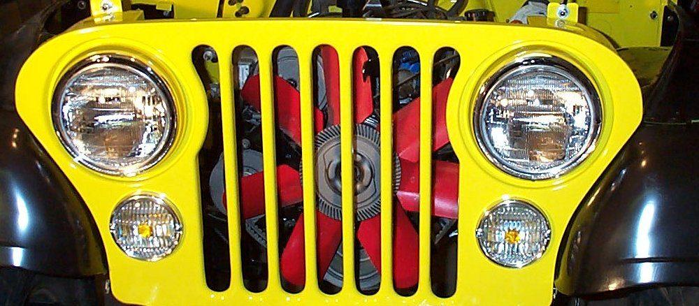Project CJ-7 Cheap Radiator Protection