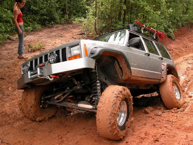 Muddy Monday Jeep XJ