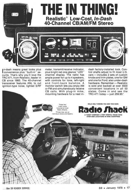 Information about citizens band radio offroaders originally there were only 23 cb channels in the us the present 40 channel bandplan did not come along until 1977 sciox Gallery