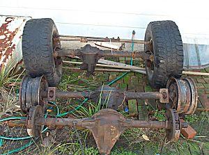 Project Jeep CJ-7 - Scout Dana 44 Axles