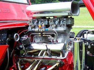 Mike Cool's CJ3A Engine